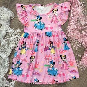 Other - Boutique Girls Princess Minnie Dress